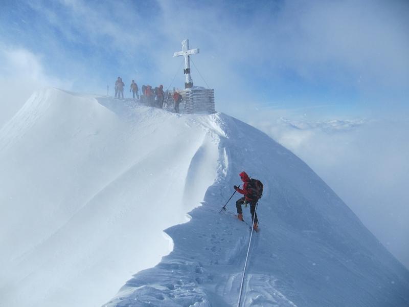 Gipfelgrat Venediger