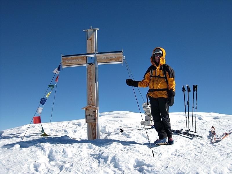 Hochbrunner Schneid Gipfel