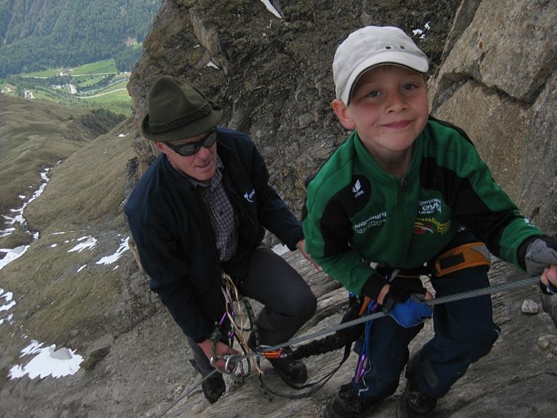 Klettersteig Rote Säule