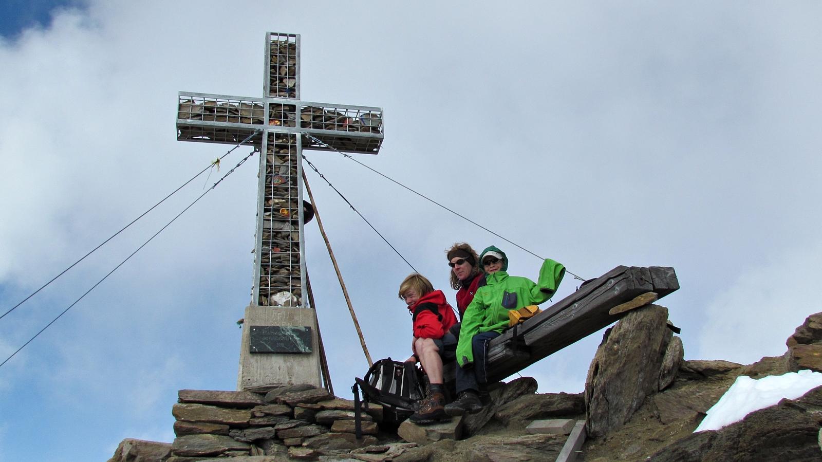 Gipfel Kreuzspitze