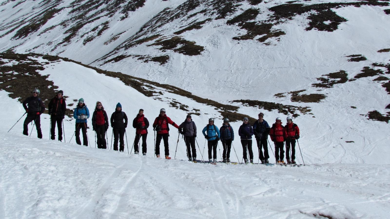 AV Jugendskitour in Kals