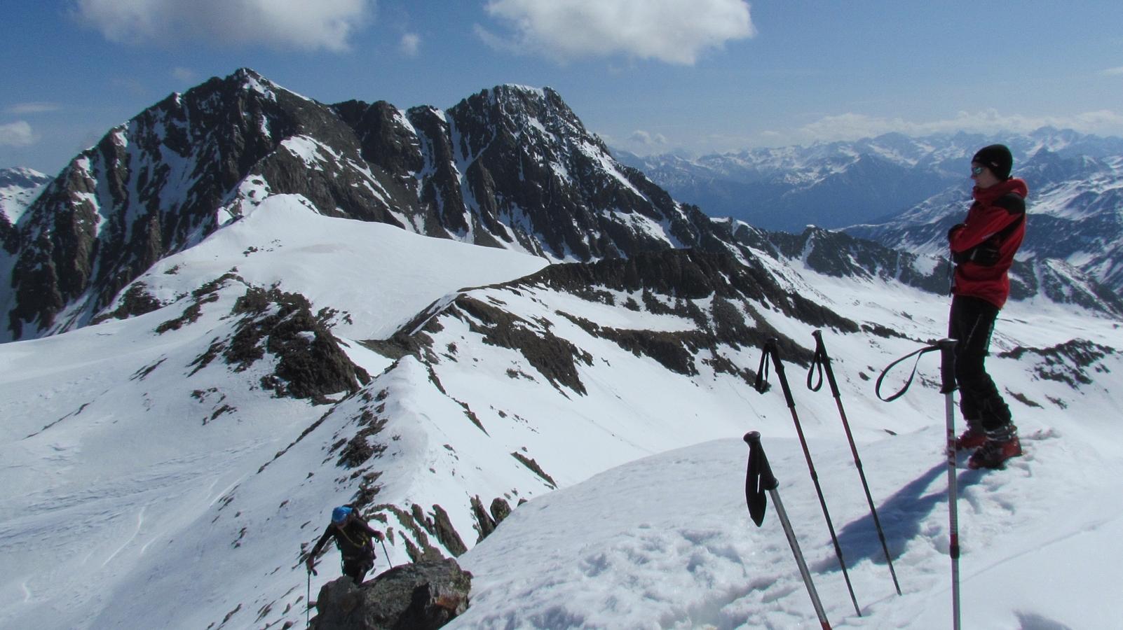 Skitour im Lasnitzental