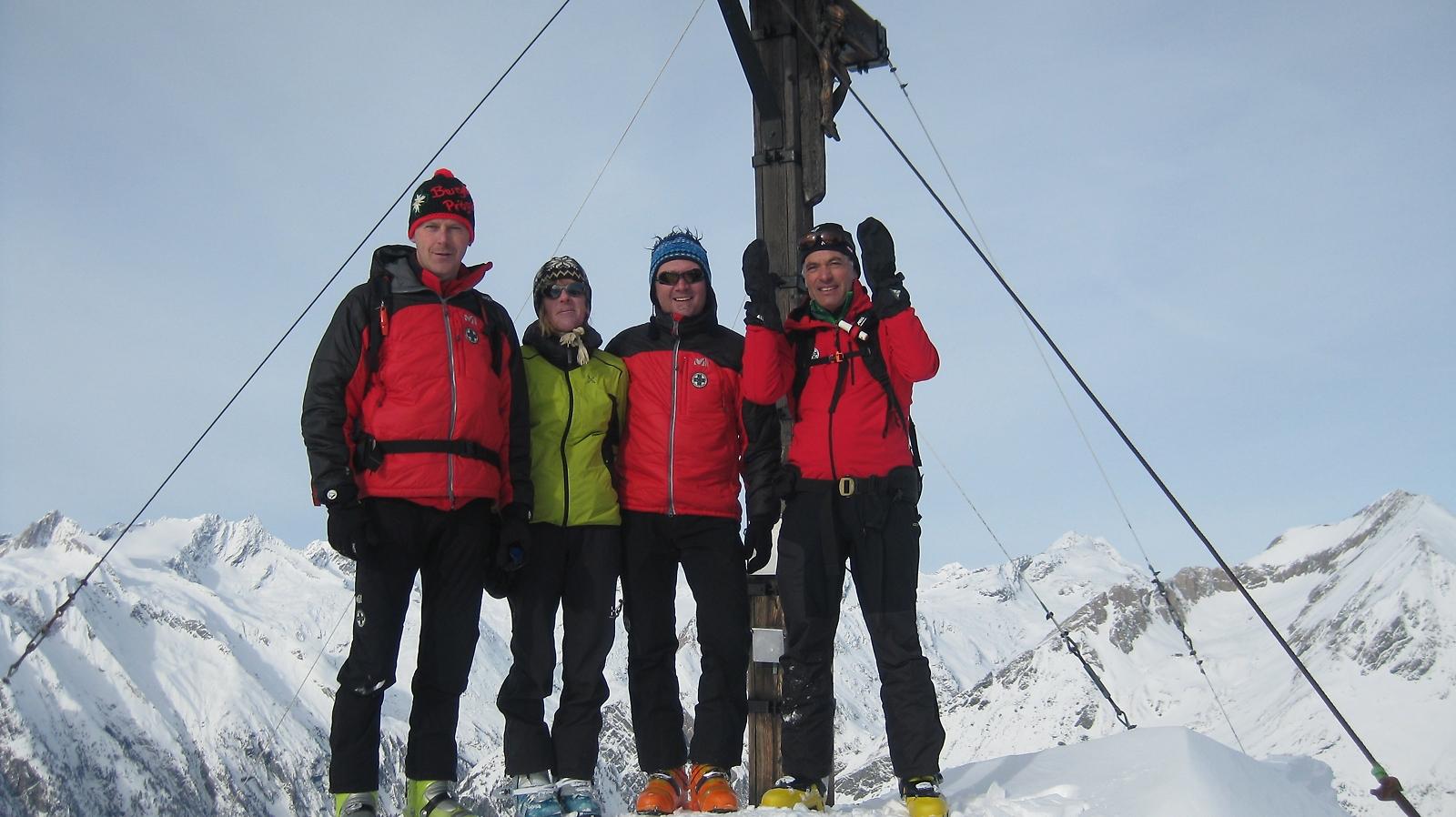 Gipfel Bergerkogel