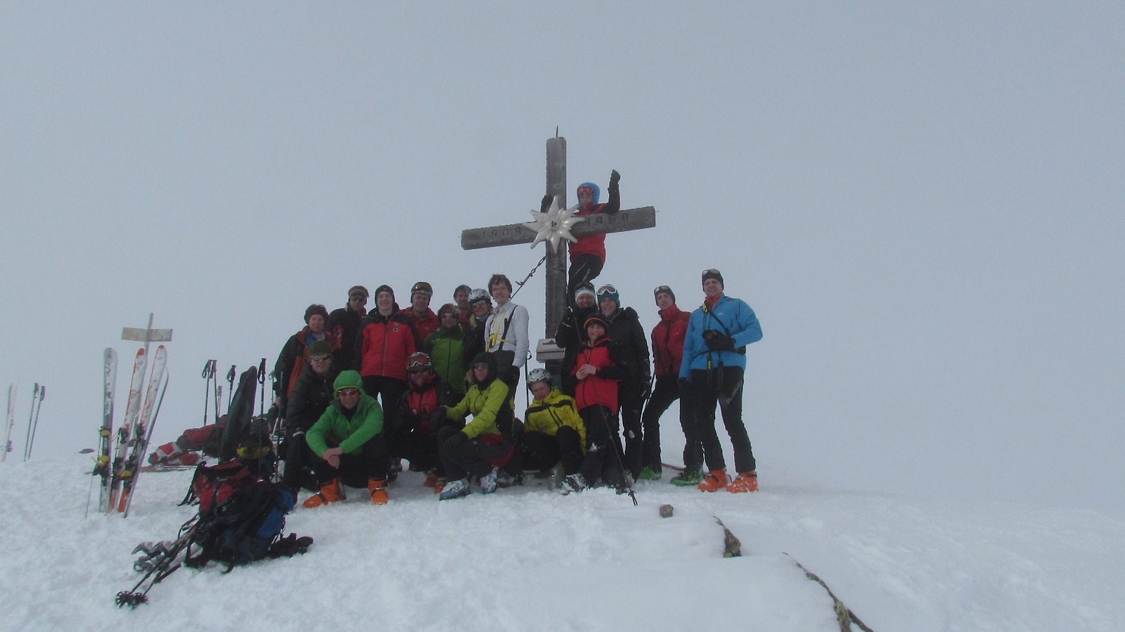 Gipfel Cresta Biancha