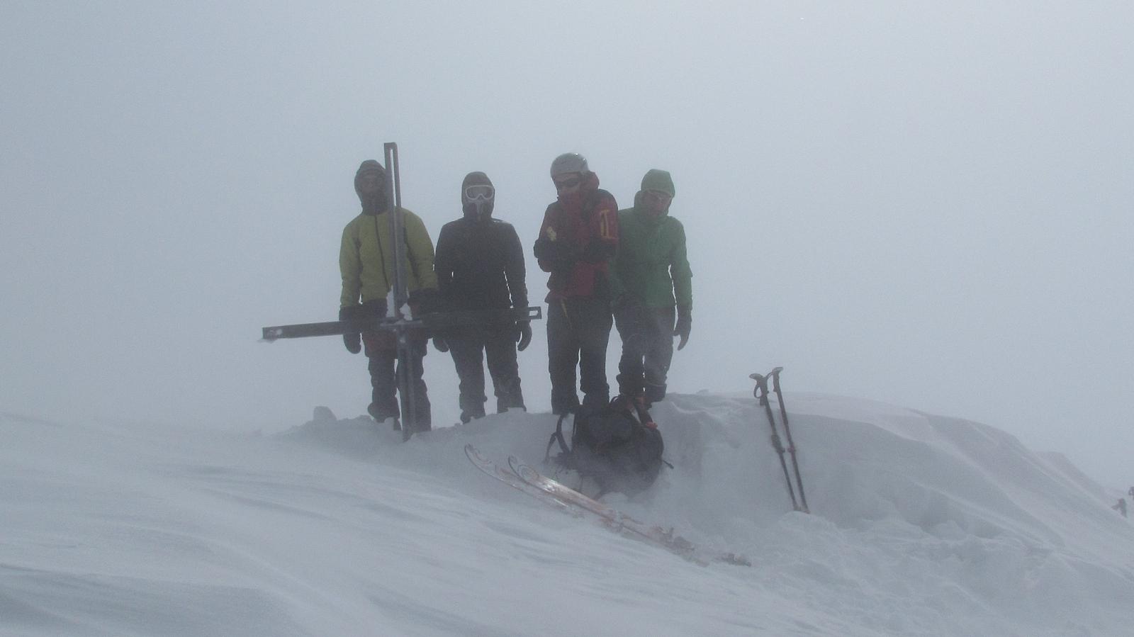Gipfel Hochgasser