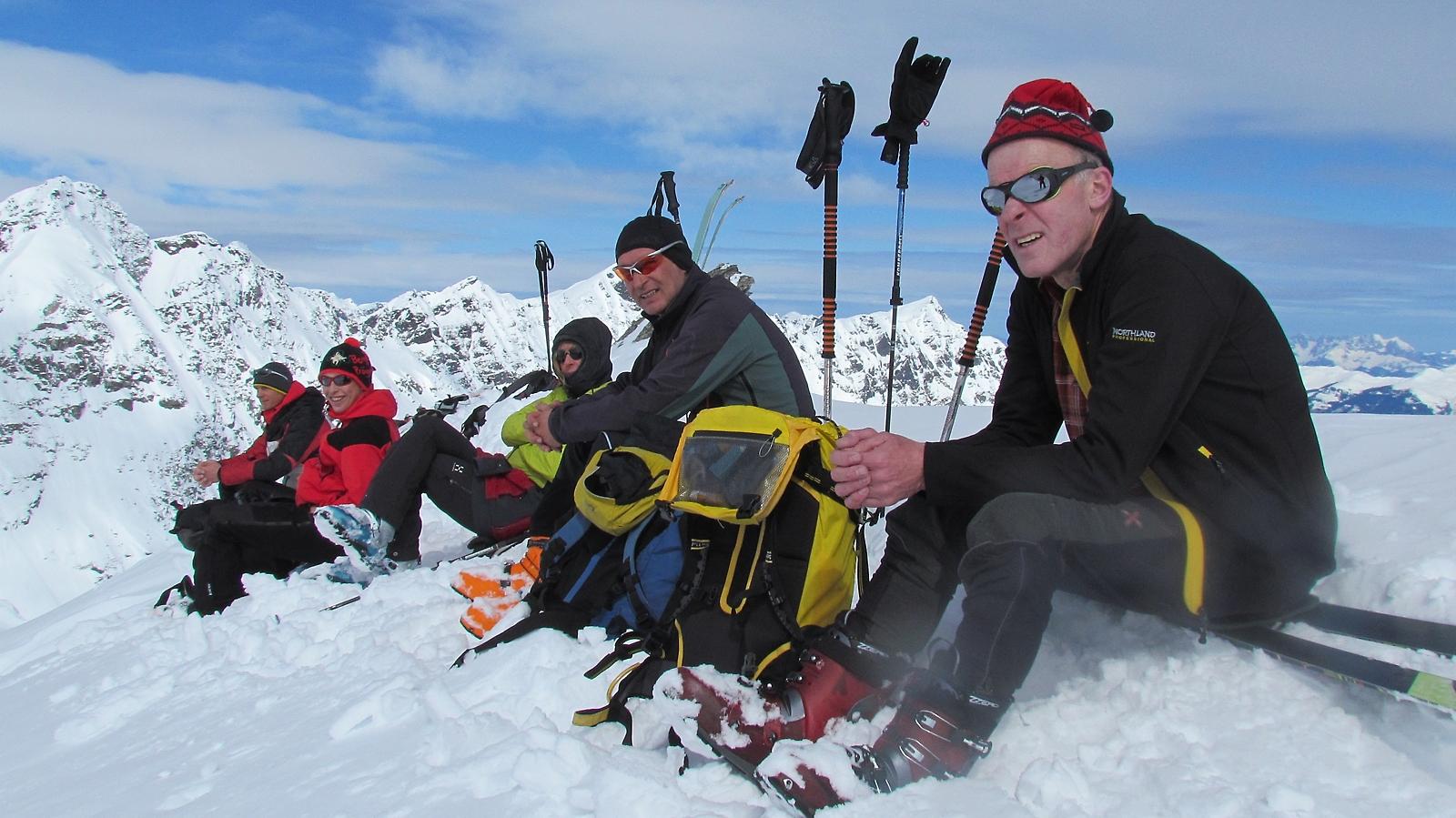 Gipfel Amertaler Hoehe