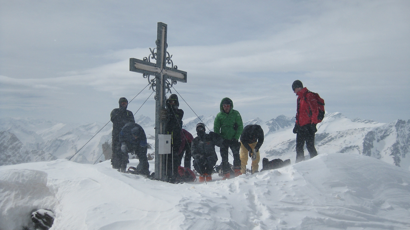 Gipfel Weissspitze