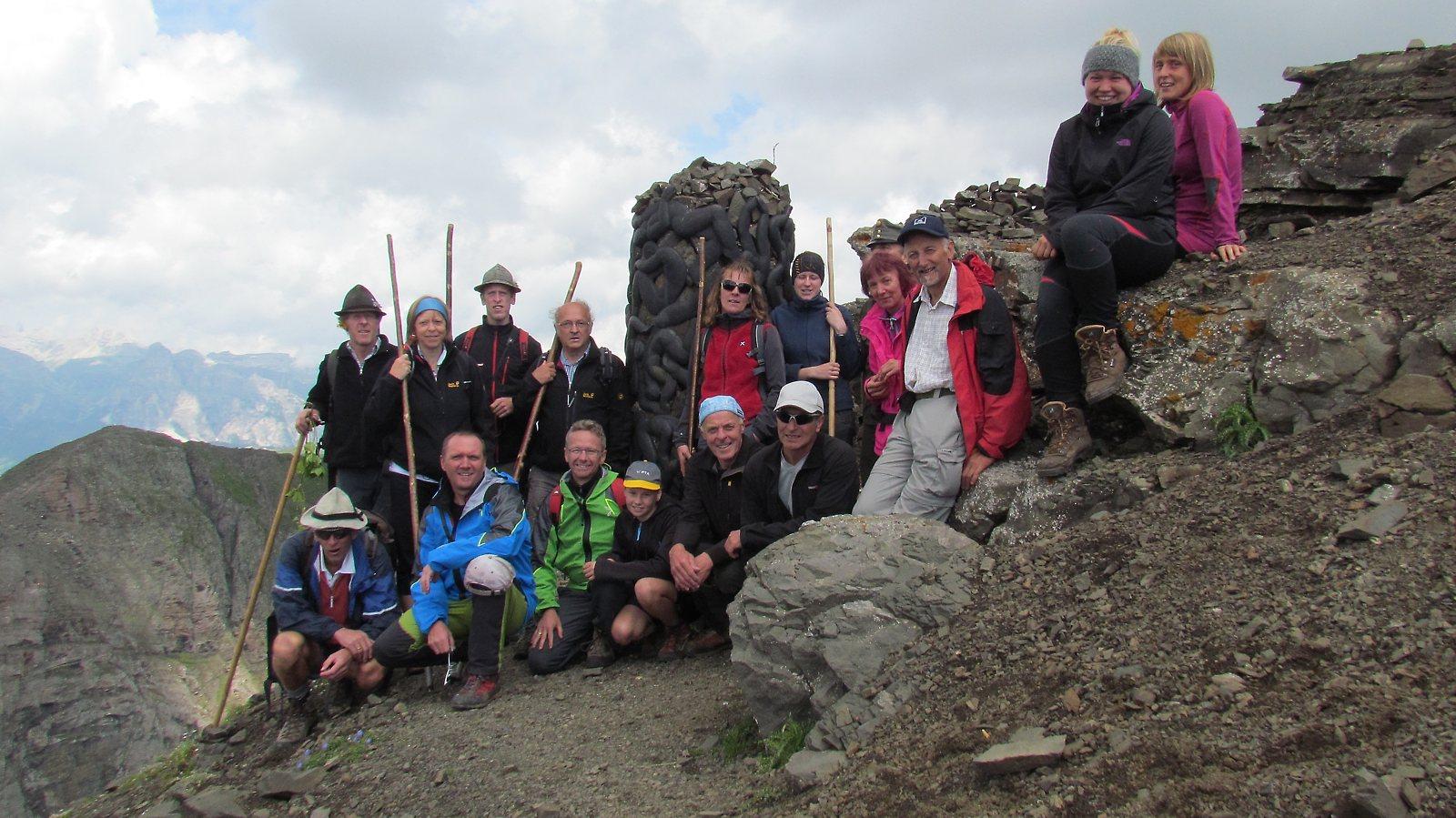 Gipfel Col di Lana