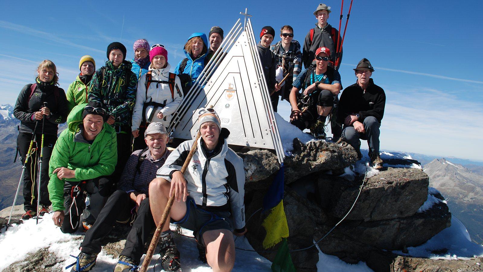 Gipfel Dreiherrnspitze