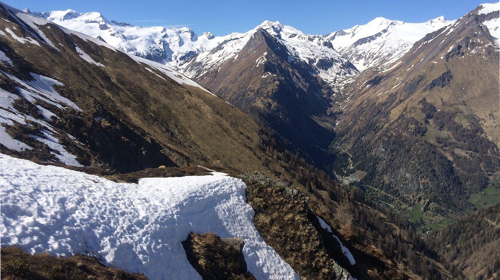 Ausblick vom Almspitz