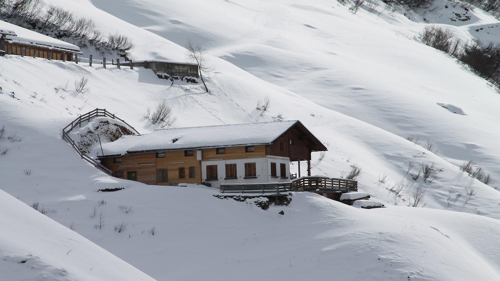 Schitour Lasnitzenhütte