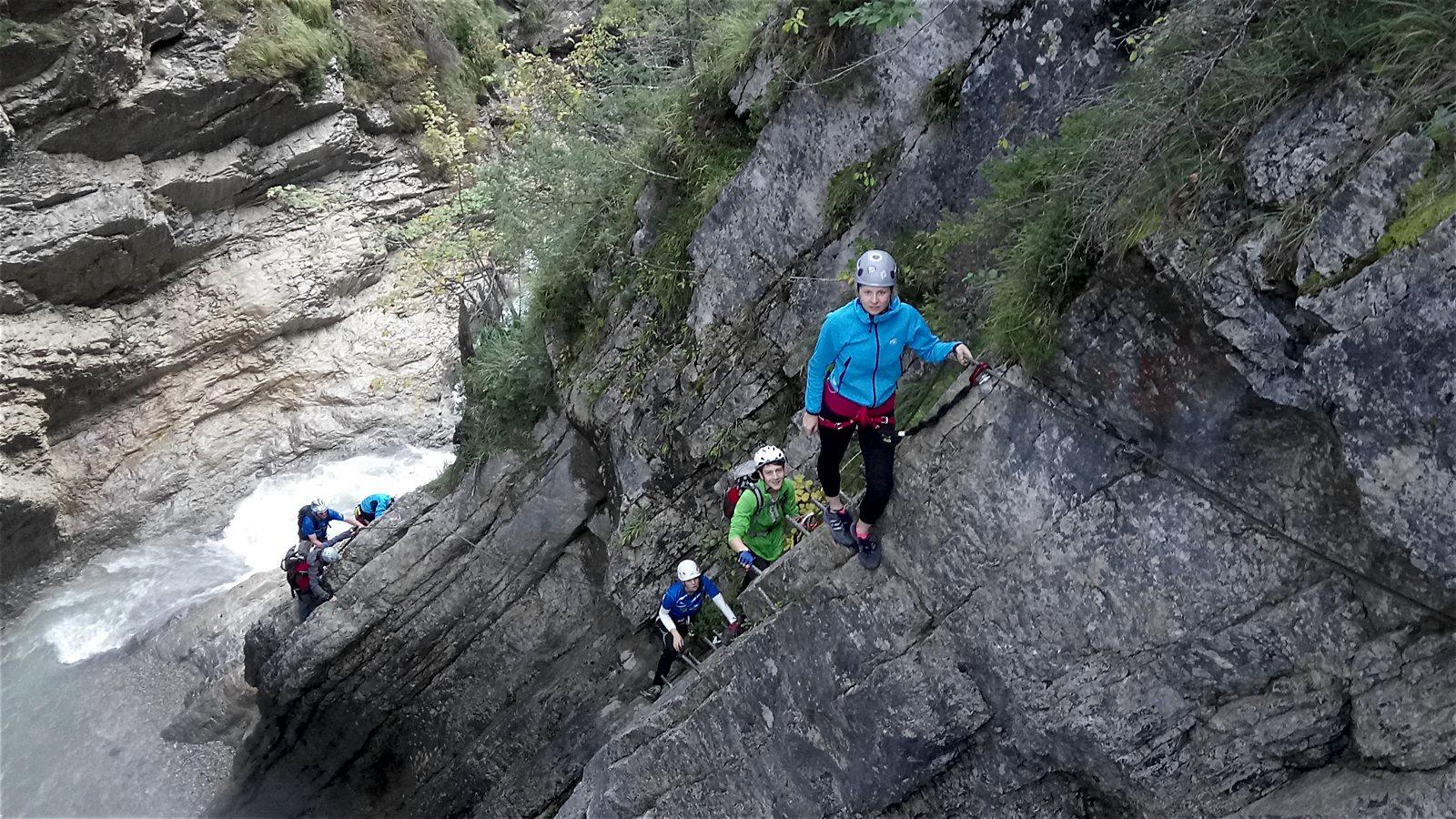 Klettersteig Pirkachklamm