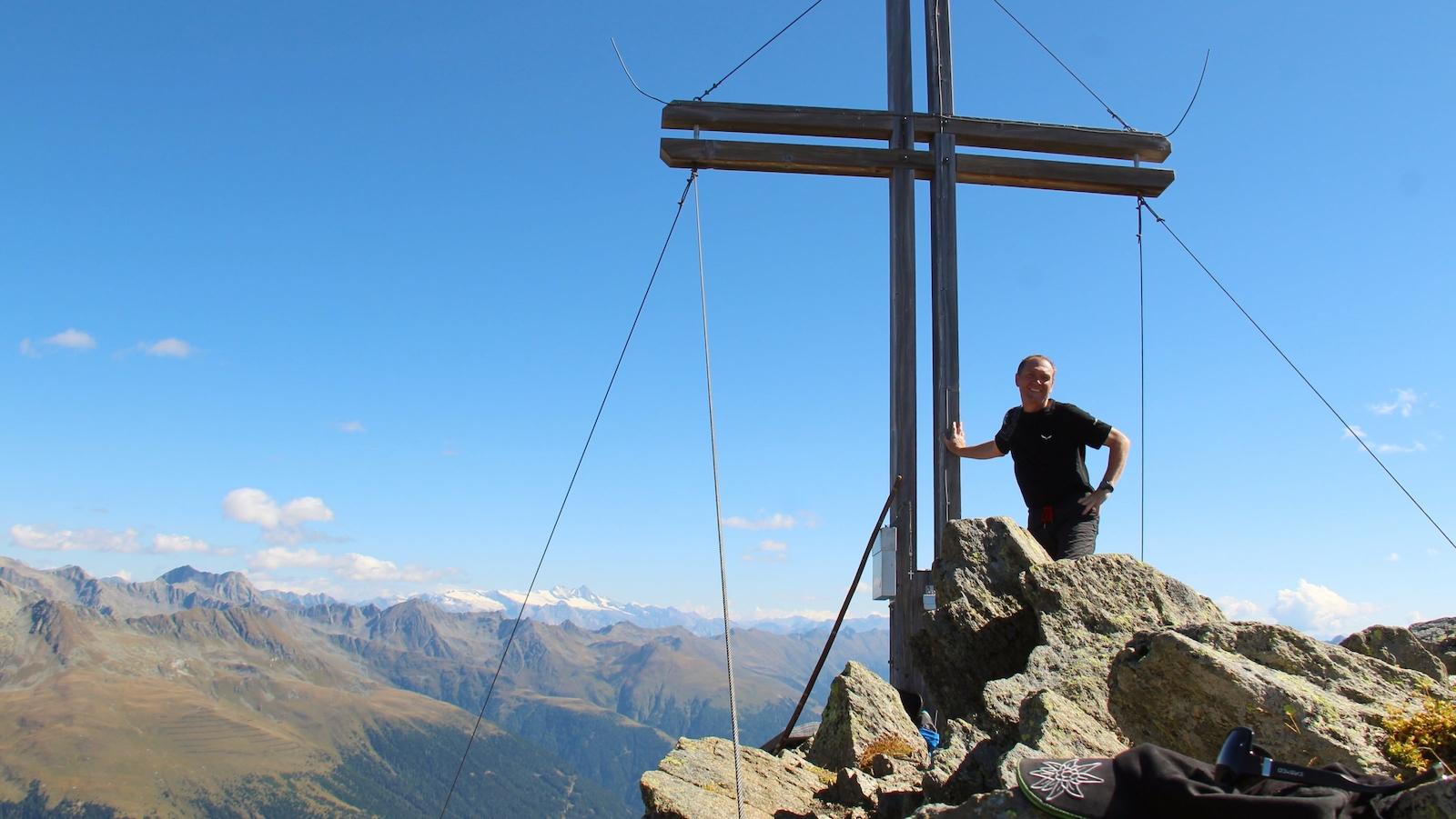 Gipfel Deferegger Pfannhorn