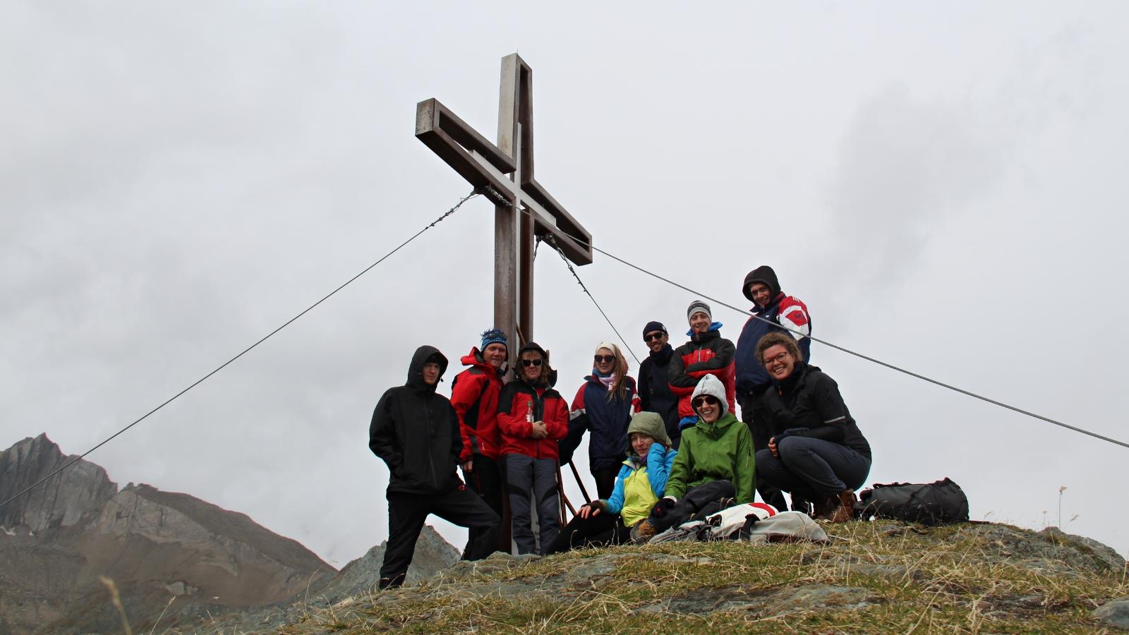 Gipfel Wiesbauerspitze