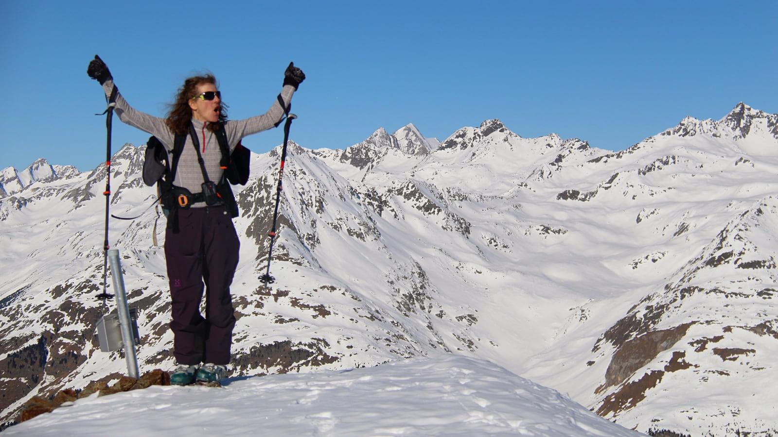 Gipfel Kahorn