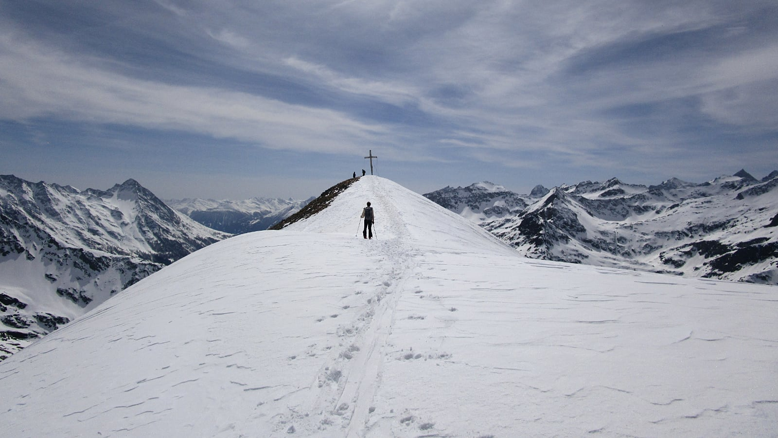 Gipfelbereich Messeling